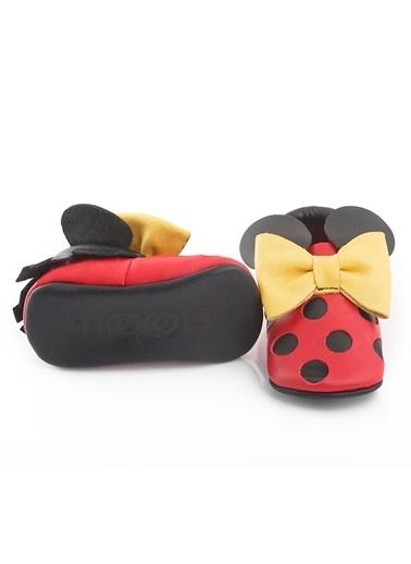 Moots Moots Kırmızı  Mickey Mouse Ayakkabı Kırmızı
